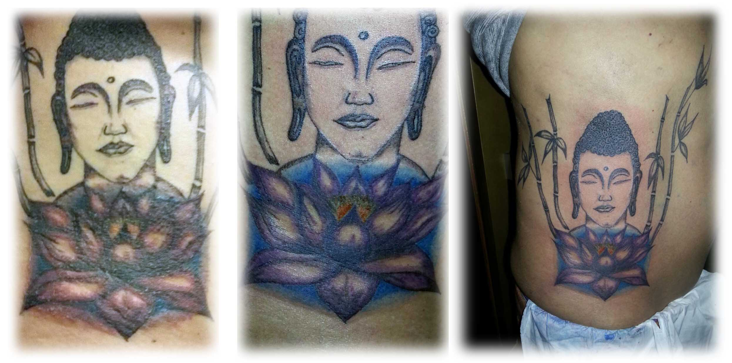 Tatuaje tratado con Aloe Vera